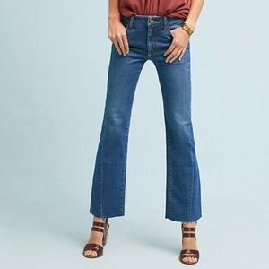 Pilcro High Rise Cropped Flare Jeans